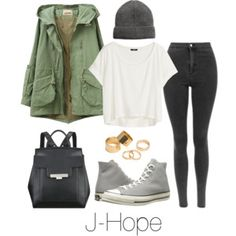 J-Hope Inspired w/ Converse