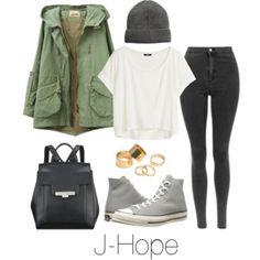 J-Hope Inspired w/ Converse