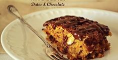 Κέικ με Βρώμη, Χουρμάδες, Αμύγδαλο και Σοκολάτα