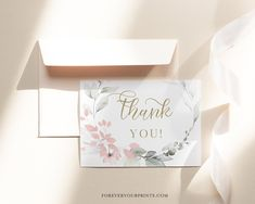 Thank You Cards Wedding Thank You Note Wedding Thank You | Etsy