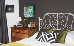 Small dresser as a nightstand = more storage Backinblack01_rect540