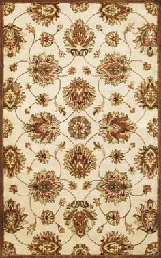 """KAS Syriana 6005 Allover Kashan 2'3"""" x 7'6"""" Runner Ivory Area Rug by KAS. $157.50. Syriana 6005 Allover Kashan is an area rug by KAS. It is a 2'3"""" x 7'6"""" runner area rug with vendor described color of ivory with contemporary style."""