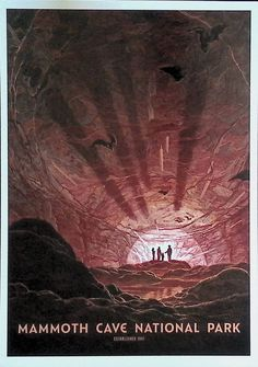 Mammoth Cave, National Parks, Movie Posters, Painting, Cards, Film Poster, Painting Art, Paintings, Maps
