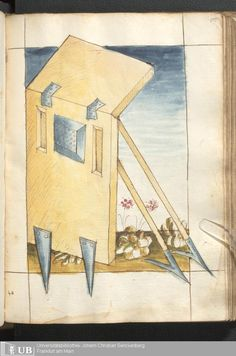 211 [105r] - Ms. germ. qu. 15 - Bellifortis - Page - Mittelalterliche Handschriften - Digitale Sammlungen