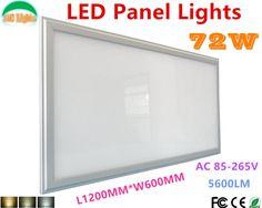 206.90$  Watch here - http://alibkq.worldwells.pw/go.php?t=32642825106 - Wholesale 3PCs/Lot 72W Ultra-thin Thickness 600x1200 Led Panel Light Super Bright Office LED Lighting 60*120cm Led Panel CE RoHS
