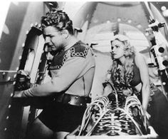 Flash Gordon and Dale Arden (Buster Crabbe & Jean Rogers) Universal serial 1936