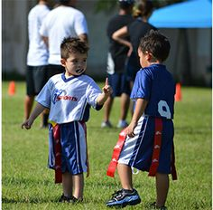 "Flag Football ""Hold on a sec while I score a touchdown! Youth Flag Football, Tackle Football, Football Program, Games For Boys, Perfect Game, I 9, Kids Playing, Have Fun, Children"
