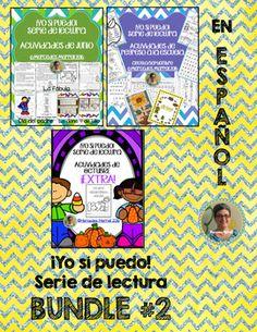 BUNDLE #2 ¡Yo sí puedo! Serie de lectura Actividades de JU