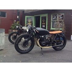 Follow: @caferacersofinstagram for the best cafe racers