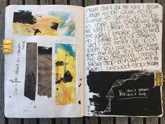 @sarahundfuchs | Season of Dreams | Get Messy Art Journal