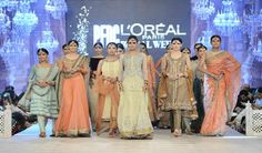 Asifa & Nabeel Wedding Dresses at PLBW 2014