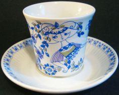 5 Pairs Figgjo Lotte Turi Gramstad Design Cups Saucers Norway Price Drop | eBay