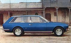 """Pininfarina Peugeot Shooting Brake. Is """"shooting brake"""" European for station wagon?"""