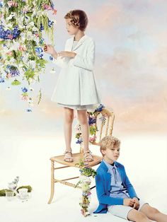 Baby Dior & Dior Kids Clothes from France the Luxurious Children's Collection full of The History & Fine Couture of The Dior House of Fashion in Paris