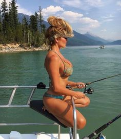 Fishing girls