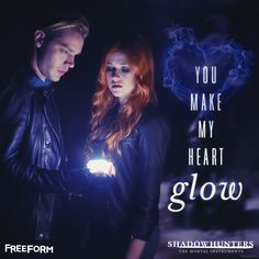You make our hearts glow  | Shadowhunters | Clace