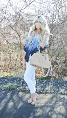 CARA LOREN; love the outfit and hair!