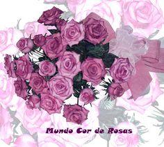Buquê de Rosas Simone Uller Rosas Artesanais
