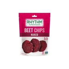 They're called Rhythm Superfoods for a reason. They go all in on the beets with these Naked Beet Chips.