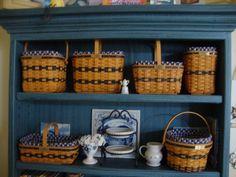 Miniature Longaberger Collector Club Baskets