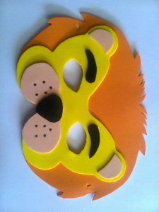 Best Absolutely Free Mascara festa Thoughts , Animal mask craft idea for kids Foam Sheet Crafts, Foam Crafts, Preschool Crafts, Paper Crafts, Kids Crafts, Animal Masks For Kids, Animals For Kids, Mask For Kids, Winter Crafts For Toddlers