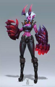 데몬 바이 공식 컨셉아트 Demon VI Official Conceptart
