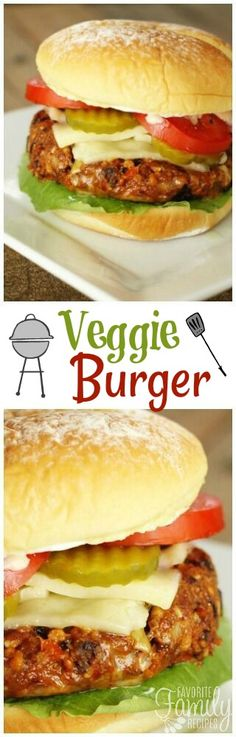 You have got to try these veggie burgers - they actually taste good! They are so flavorful and have the perfect consistency. You won't even miss the meat! via @favfamilyrecipz