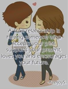 Relationship quote via Love Quotes on Facebook