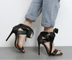 stilettos heels strappy sandals