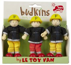Le Toy Van Firefighters - Free Shipping