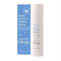 This Works Baby Sleep Pillow Spray Blue 120ml A safety approved ultra gentle version of this works awardwinning deep sleep pillow spray to help lull your baby into a peaceful sleep. This Worksamprsquo deep sleep pillow spray designed especially f http://www.MightGet.com/march-2017-1/this-works-baby-sleep-pillow-spray-blue-120ml.asp