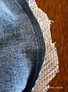 Libby's Lifestyle.: Up-cycled denim peg bag tutorial ... and why I've been absent of late.