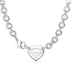 Return to Tiffany & Co Heart Charm Necklace