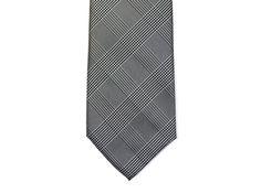$85 - Glen plaid The grooms tie.