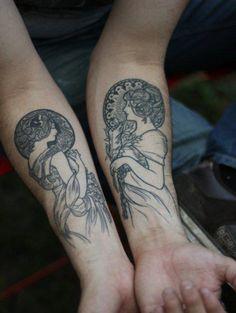 {Art Nouveau Tattoo},