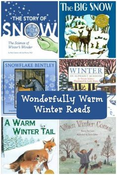 Awesome winter books - something for kids of all ages. (Free list with a little info about each book.)