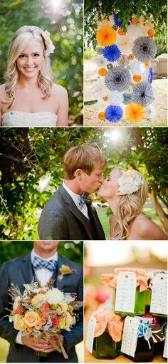 Love the pinwheels! Creative and inexpensive. : )