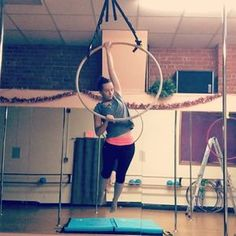 """Gracie White on Instagram: """"Drops and beats from today's class! The first one is a little scary More sequences coming soon! • #circuseverydamnday #aerial…"""""""