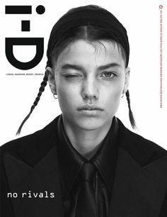 Publication: i-D Magazine Fall 2017 Model: Mathilde Henning Photographer: David Sims Fashion Editor: Alastair McKimm Model: Selena Forrest Photographer: Zoë Ghertner Fashion Editor: Julia.