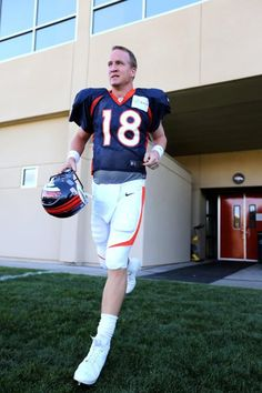 Peyton Manning - 2012 training camp will be at one of the games this season!!