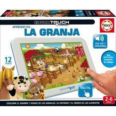 Juguete EDUCA TOUCH JUNIOR LA GRANJA PRECIO 23,51€ en IguMagazine#juguetesbaratos