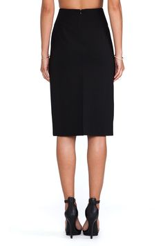 Theory Austell Skirt in Black