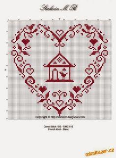 Brilliant Cross Stitch Embroidery Tips Ideas. Mesmerizing Cross Stitch Embroidery Tips Ideas. Cross Stitch Heart, Cross Stitch Samplers, Cross Stitching, Cross Stitch Embroidery, Embroidery Patterns, Cross Stitch Designs, Cross Stitch Patterns, Cross Stitch Freebies, Christmas Cross