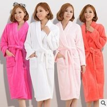 Wholesale womens robes Gallery. Winter hot sell flannel bathrobes ... 0004a462f