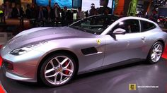 2017 Ferrari GTC4 Lusso T - Exterior and Interior Walkaround - Debut at ...