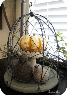 A Stroll Thru Life: Let's Have A Cloche Party - Winter Cloches