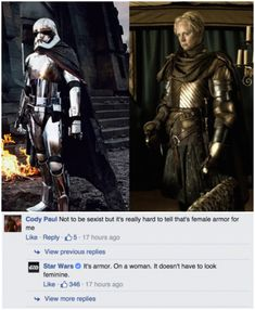 This amazing clapback from the official Star Wars account. | 17 Times Feminists Completely Smashed The Patriarchy