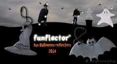 Powerful Halloween reflectors that are more fun than reflective tape. A bat and a hat have been added to the funflector Halloween collection. Halloween Fun, Halloween Costumes, Some Ideas, More Fun, Tape, Safety, Blog, Kids, Collection