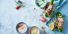 Fiskeretten for deg som ikke liker fisk Scampi, Aioli, Mac And Cheese, Fresh Rolls, Food Styling, Side Dishes, Bacon, Food And Drink, Ethnic Recipes
