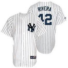 Mariano Rivera New York Yankees  42 Stitched White MLB Jersey Softball  Jerseys ff0da8759
